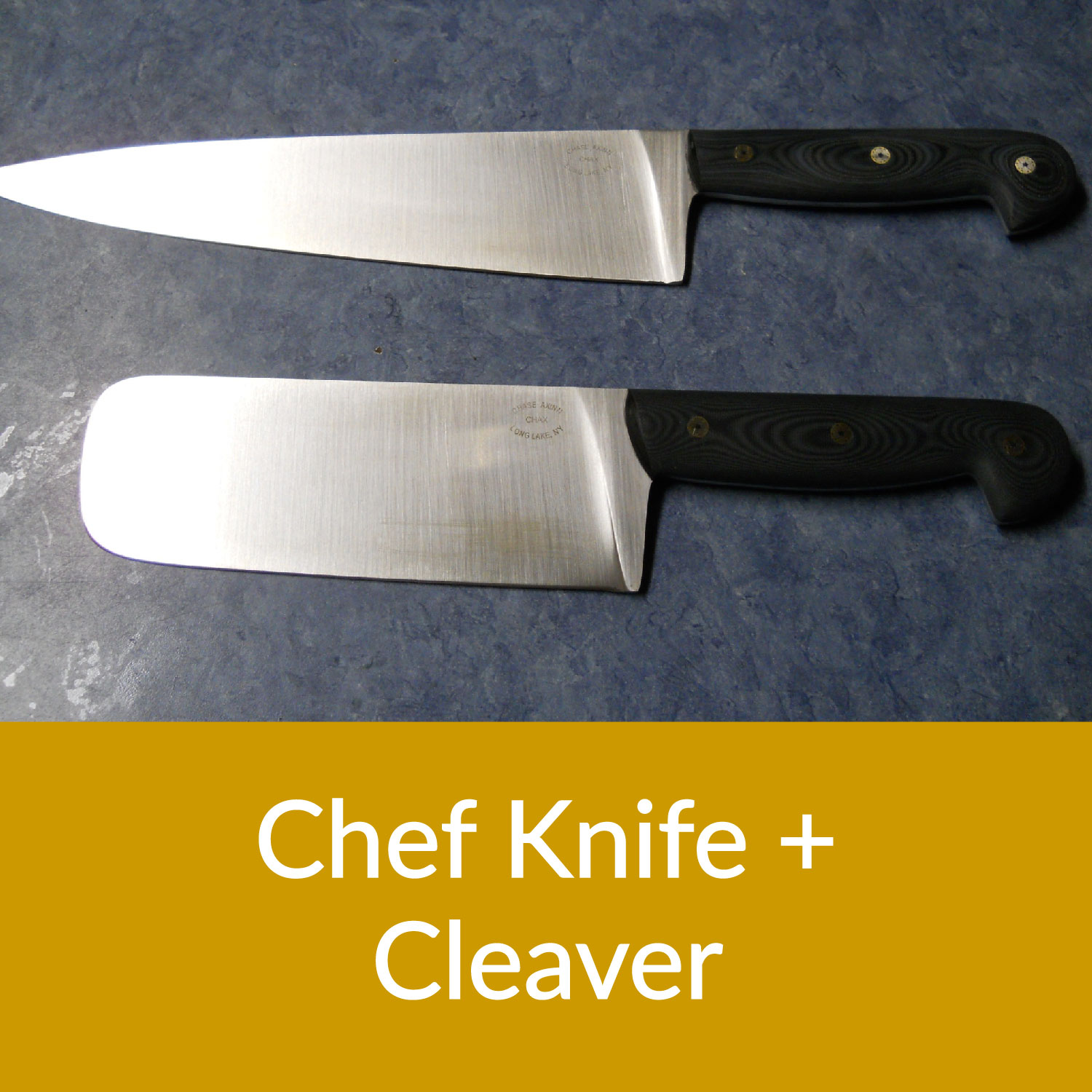 Chef Knife and Cleaver