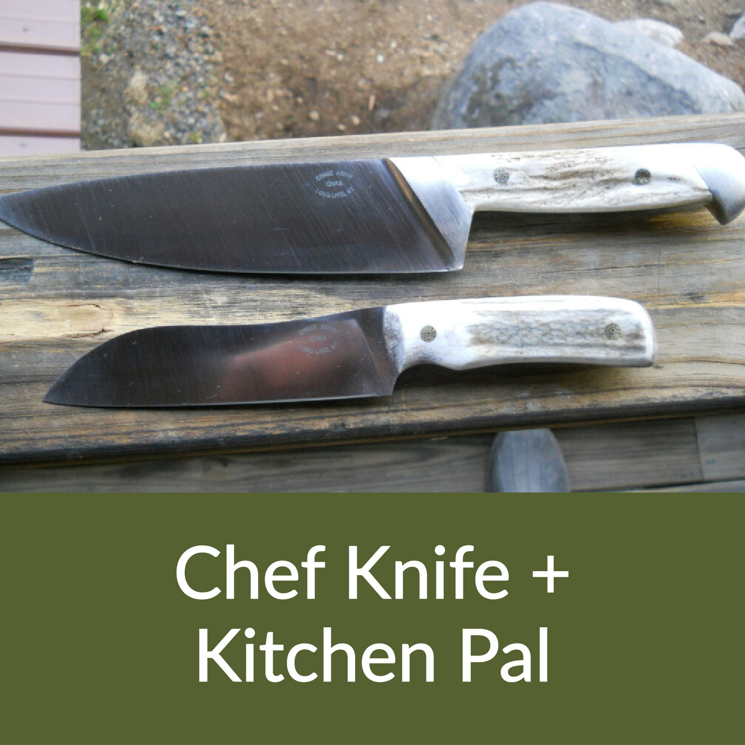 Chef Knife and Kitchen Pal