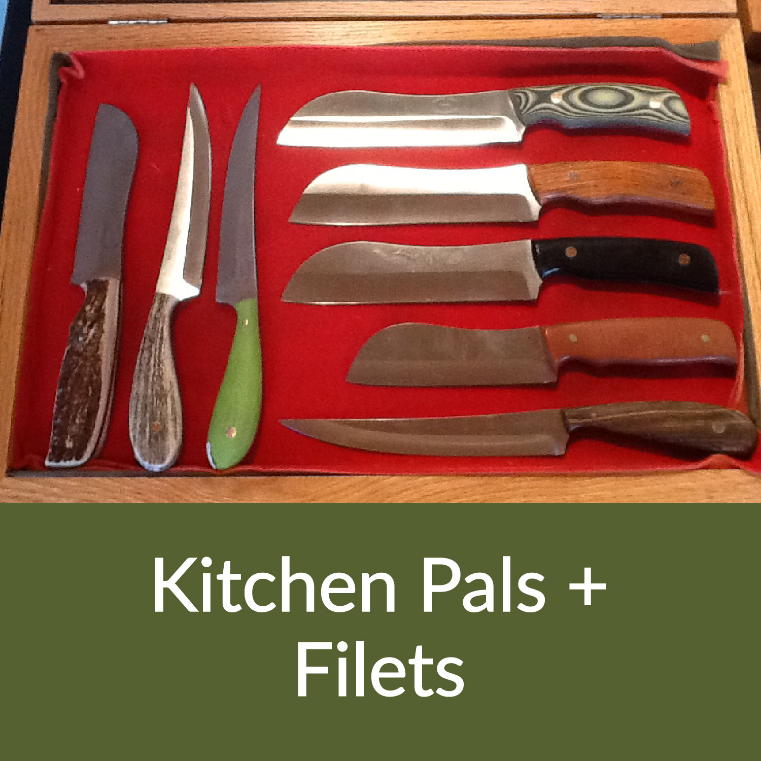 Kitchen Pals and Filet Knives
