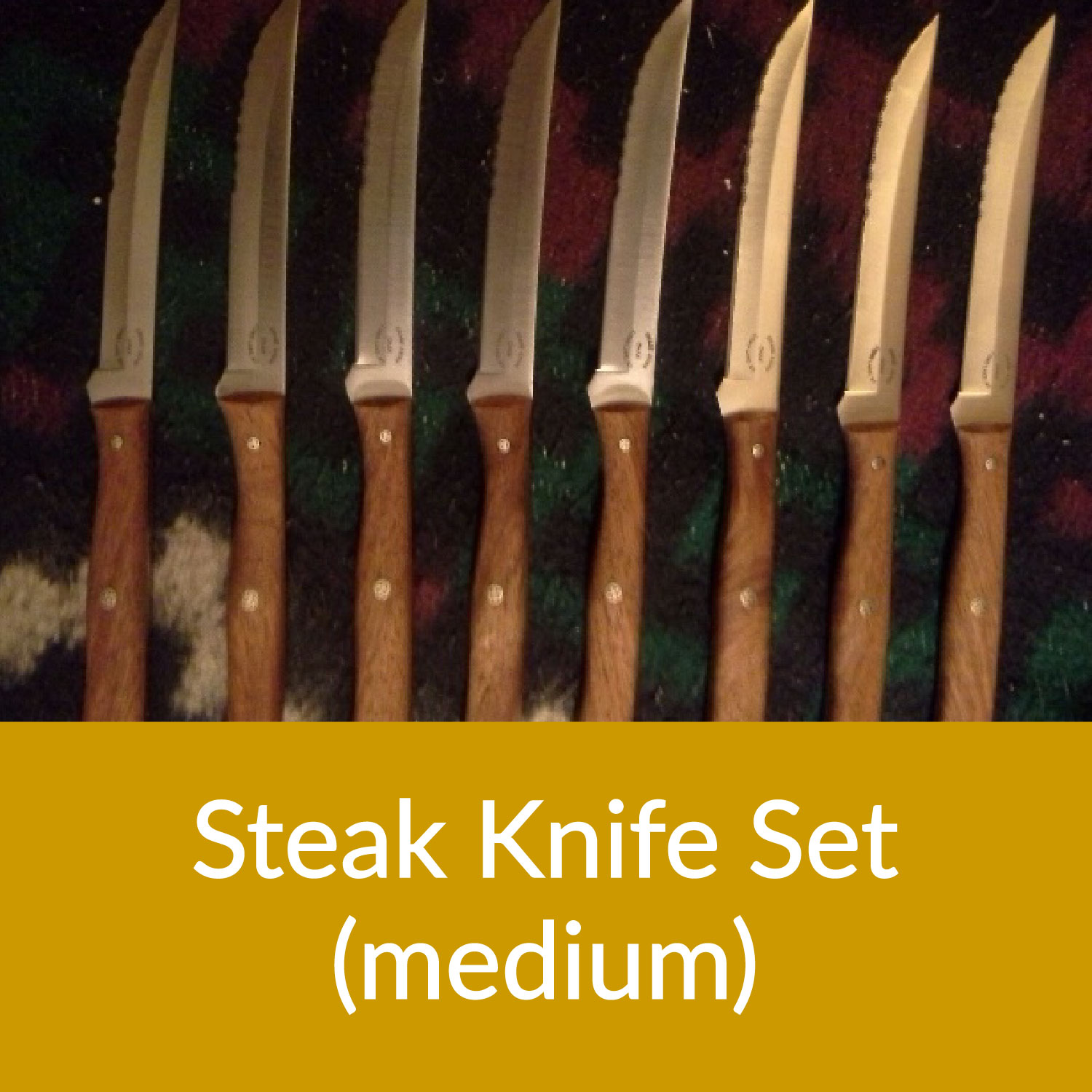 Medium Steak Knife Set