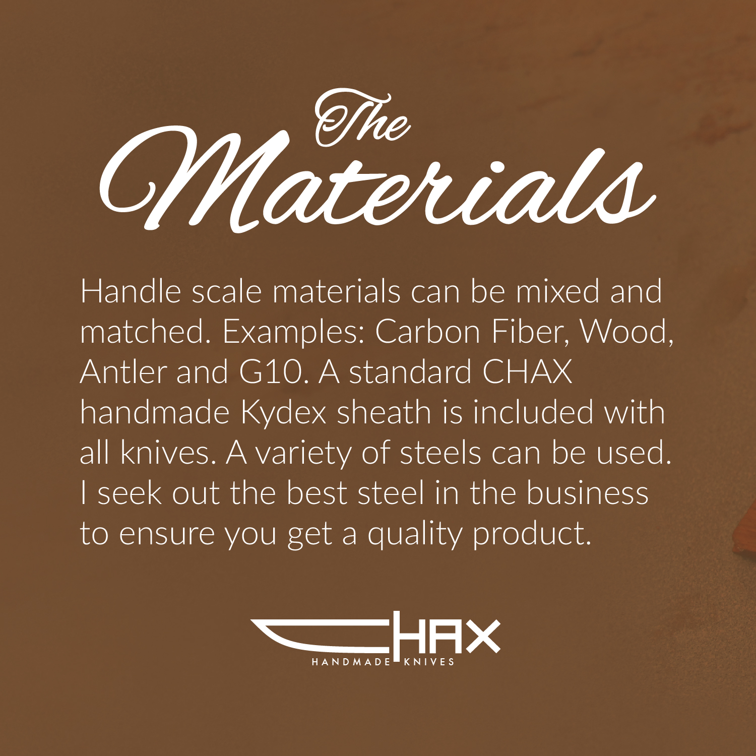 Materials Description